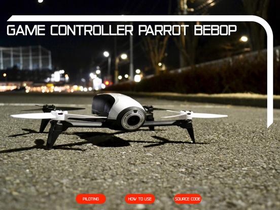 Game Controller Parrot Bebop screenshot 10