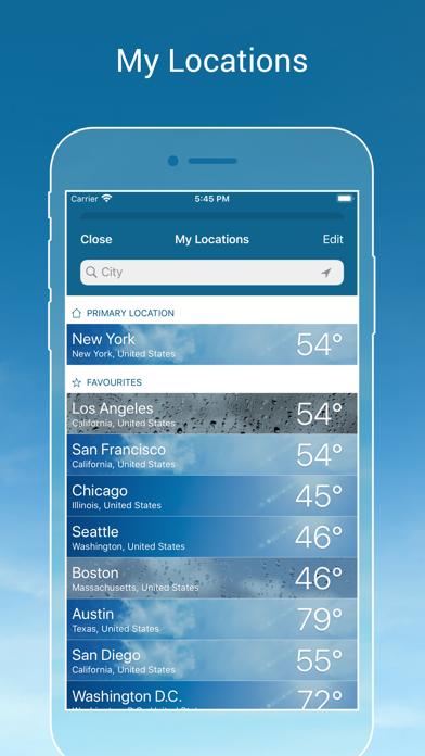 Weather & Radar USA Screenshot