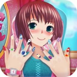 Anime Girl Nail Salon Game