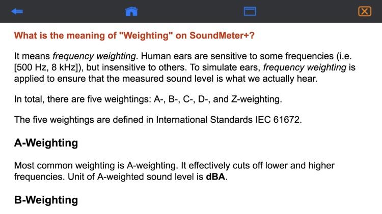 SoundMeter+ screenshot-3