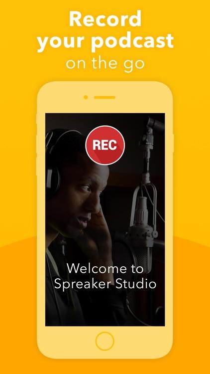 Podcast Studio by Spreaker
