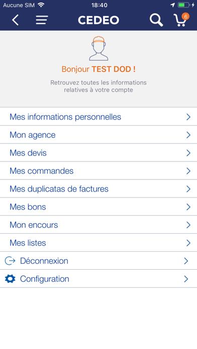 Screenshot #2 pour CEDEO