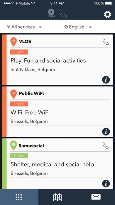 RefAid - Refugee Aid App screenshot two