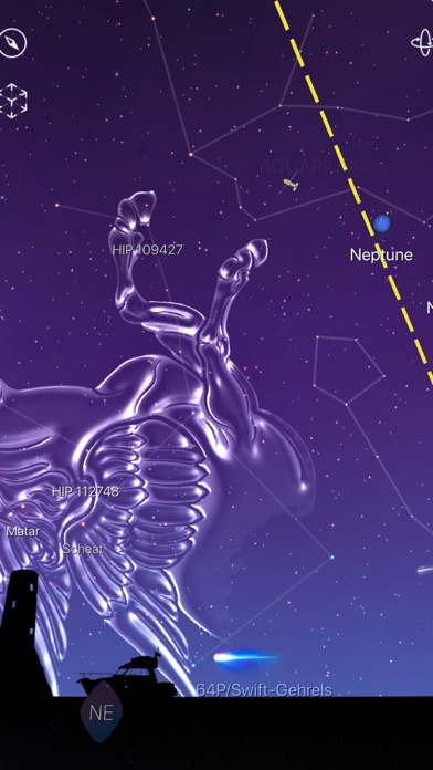 Screenshot for Night Sky in Israel App Store