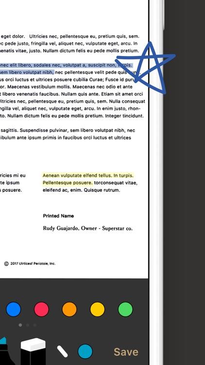 Doc Scan - PDF Scanner Fax screenshot-7