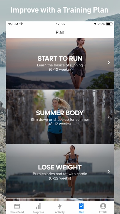 Runtastic Fitness Running App-7