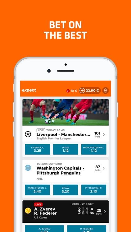 Expekt Live Sport Betting