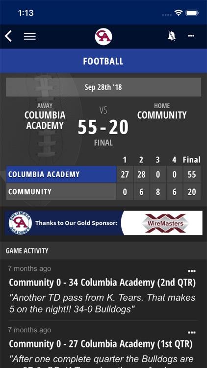 Columbia Academy Sports screenshot-4