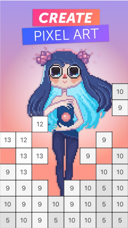 PixelArt Color by Number Game