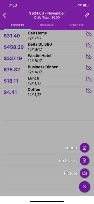 Smart Receipts on the App Store