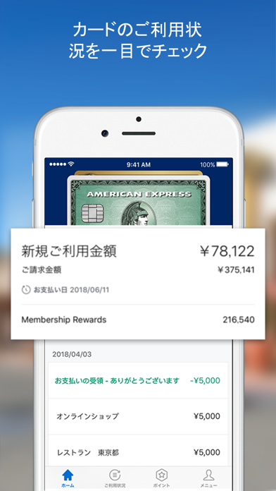 Amex Japan ScreenShot1
