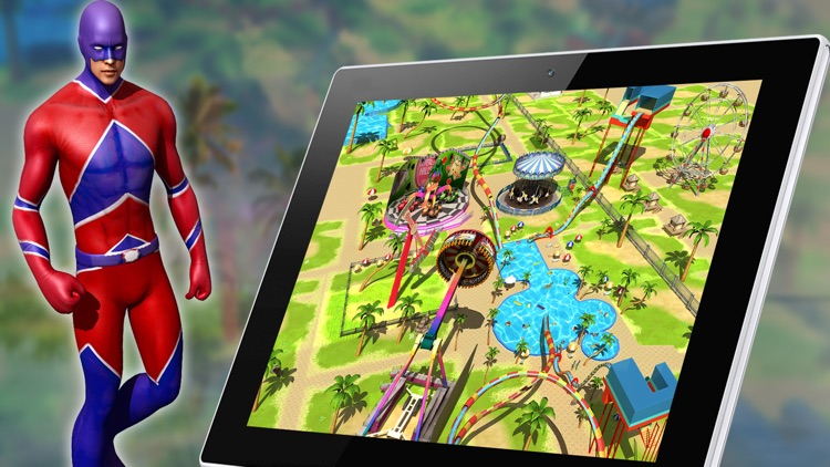Freefall Aqua Splash Ride screenshot-3