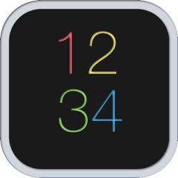 ScrollClock  Cool design clock