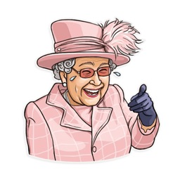 The Queen Elizabeth Stickers