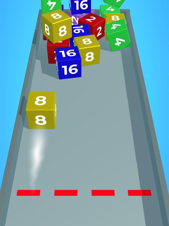 Chain Cube: 2048 3D merge game screenshot 7