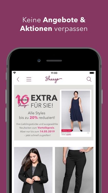 sheego - Mode in großen Größen screenshot-4