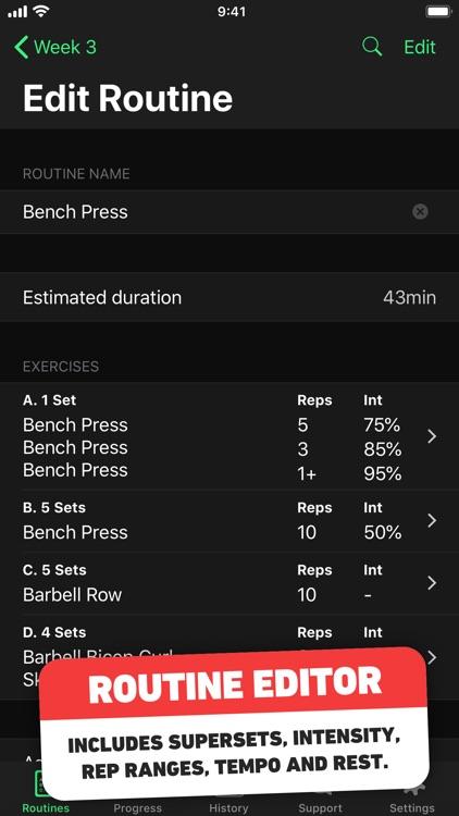 HeavySet - Gym Workout Log screenshot-3