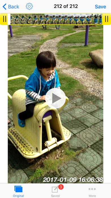 Timestamp Photo and Video pro screenshot one