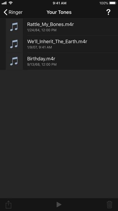 Ringer review screenshots