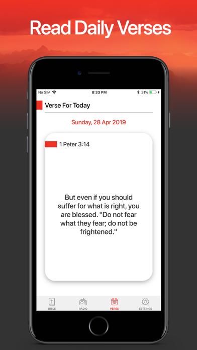 Holy Bible - KJV Daily Verses Screenshot