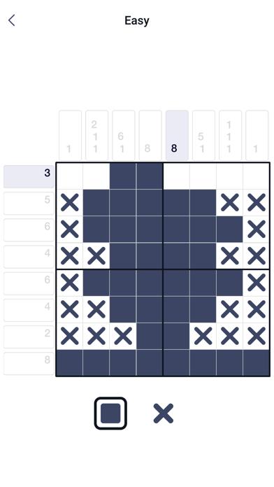 Pixel enigma nonogram screenshot 1