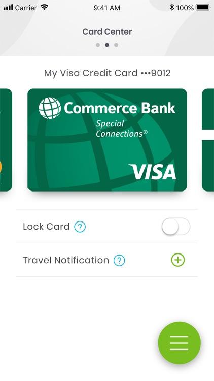 Commerce Bank for iPhone screenshot-3