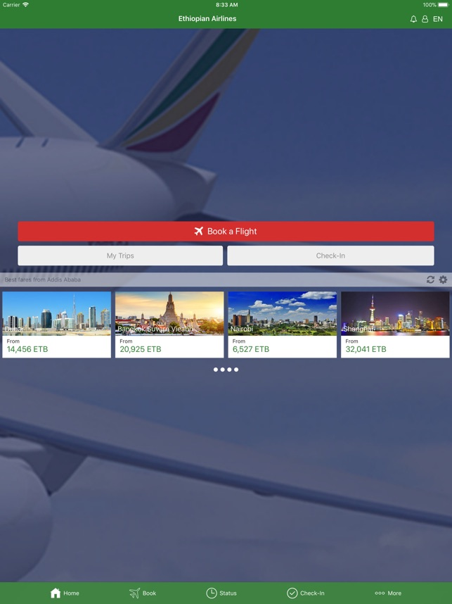 Ethiopian Airlines on the App Store