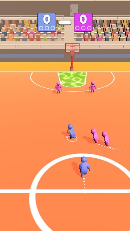Basket Dunk 3D screenshot-4