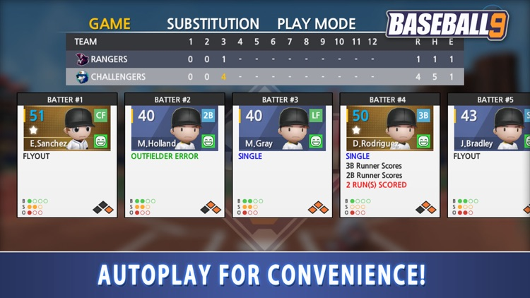BASEBALL 9 screenshot-4
