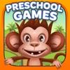 幼児と子供向けプレスクール動物園の動物パズル