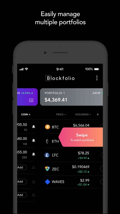 Blockfolio - Crypto Tracker screenshot-6