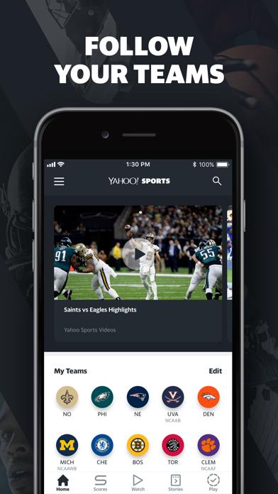 Screenshot #3 pour Yahoo Sports: Watch Live NFL