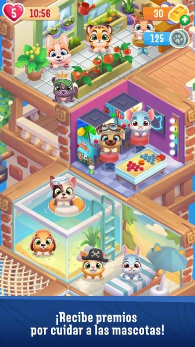 Screenshot for Pet Rescue Puzzle Saga in Spain App Store