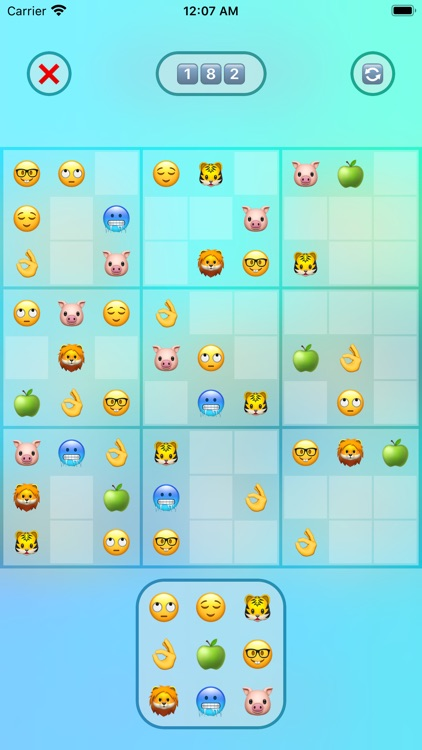 Jan's Emoji Sudoku screenshot-3