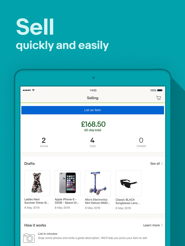 64c10ff13d  Buy, sell and save with eBay on the App Store