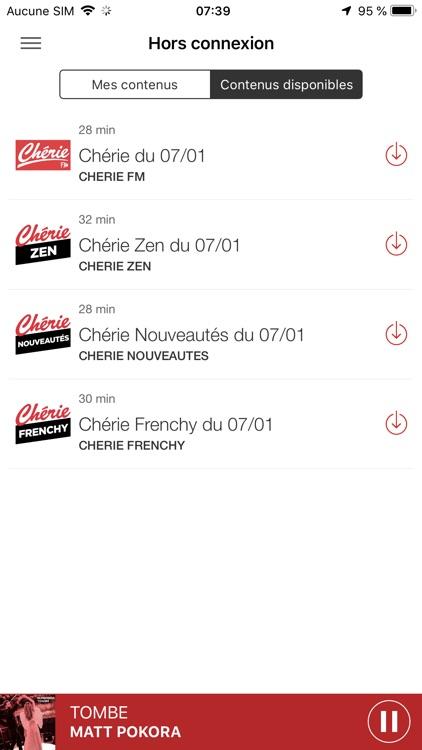 Chérie FM Radio screenshot-8