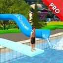 Water Slide Uphill Rush 3D PRO