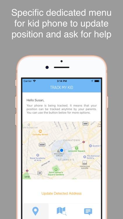 Track My Kid  - GPS localizer screenshot-4