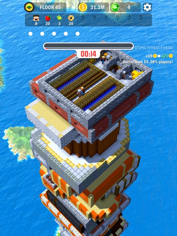 Tower Craft 3D - Idle Building screenshot 9