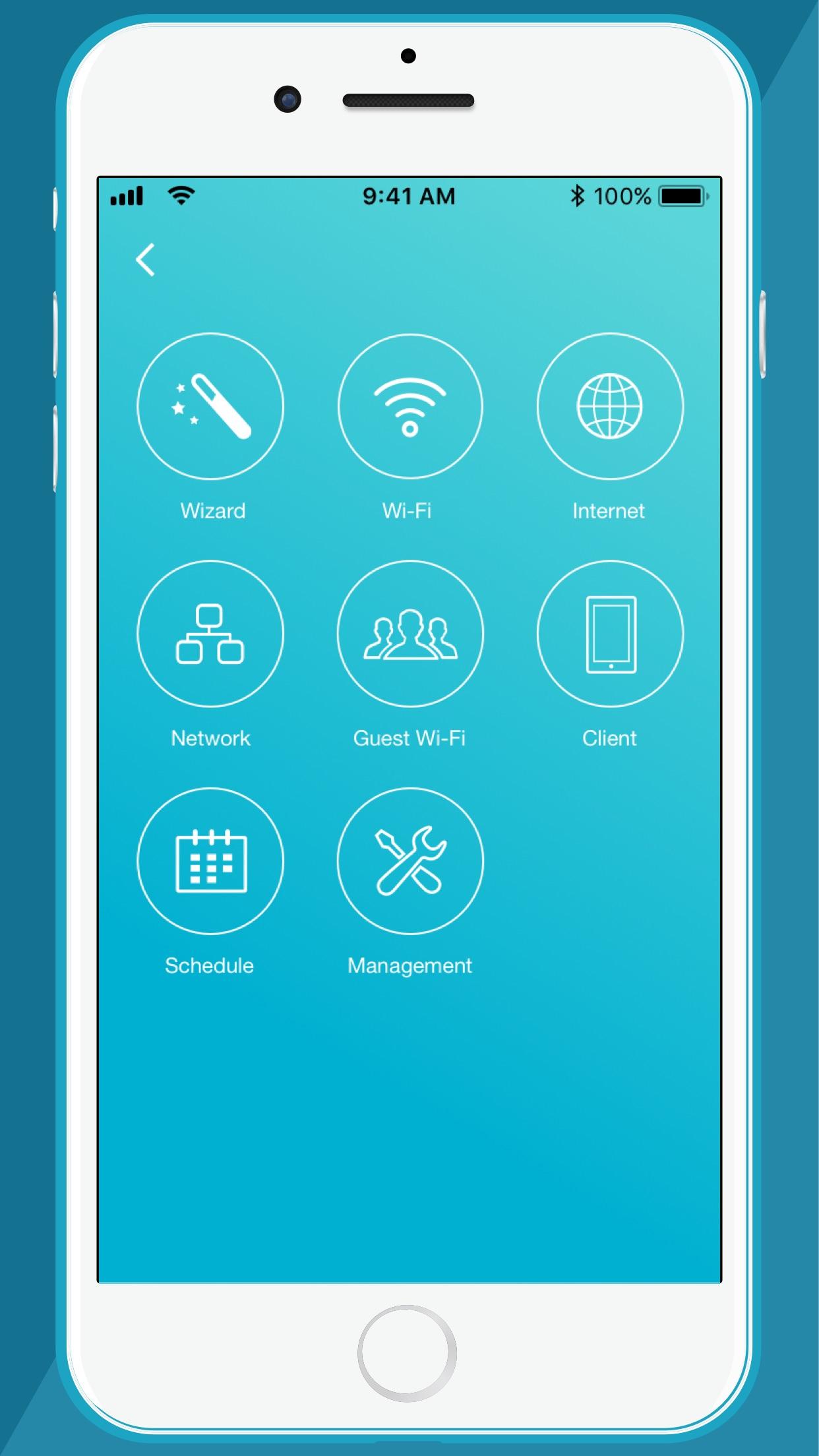 Screenshot do app D-Link Wi-Fi