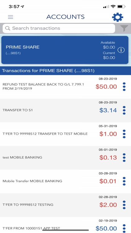 TCAFCU Mobile Banking screenshot-2