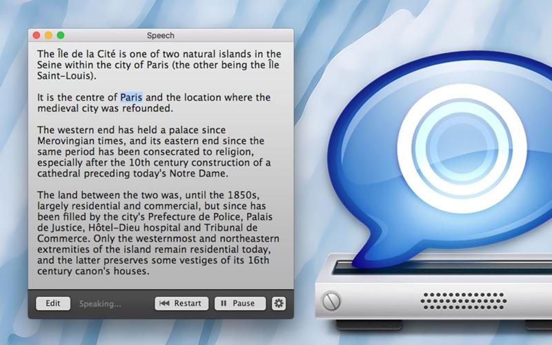 Speech скриншот программы 1