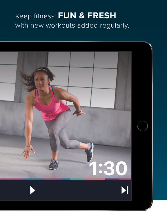 FitStar Personal Trainer — Burn Calories & Lose Weight with Video Fitness Workouts Led by Football Legend Tony Gonzalez screenshot