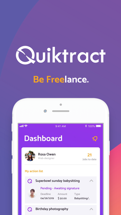 Quiktract screenshot