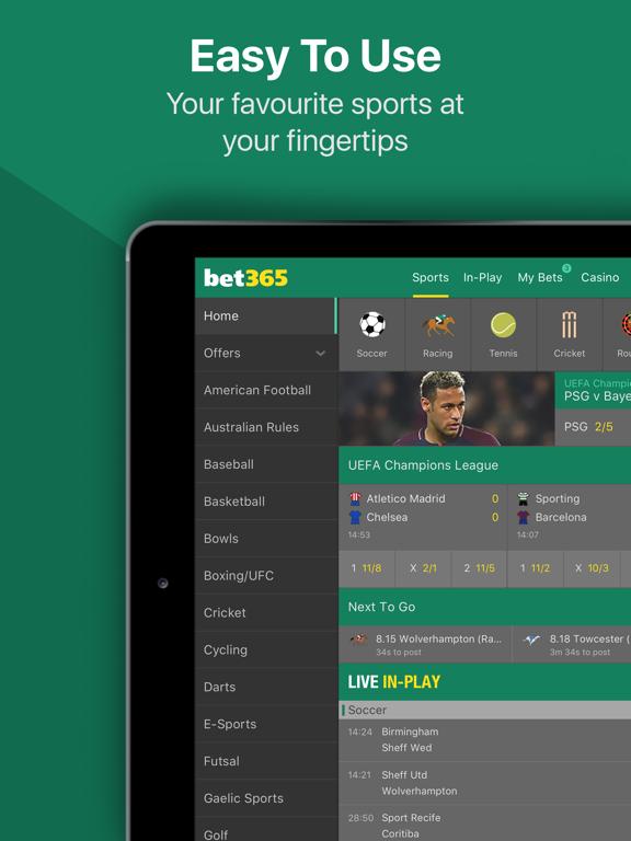bet365 - Sports Betting - Revenue & Download estimates - Apple App