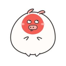猪肉丸 贴纸 iMessage表情