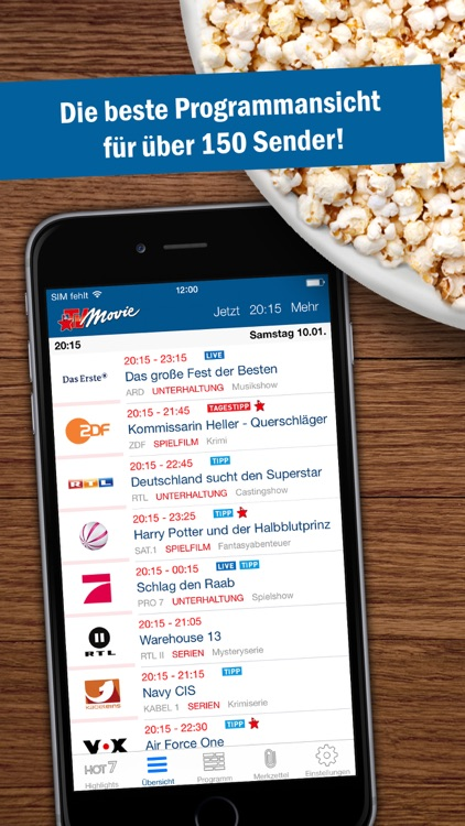 TV Movie - TV Programm screenshot-0
