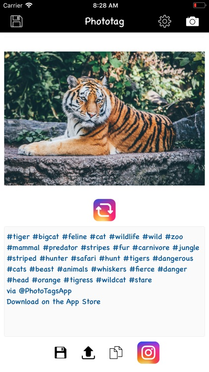 Phototag hashtag generator PRO screenshot-4