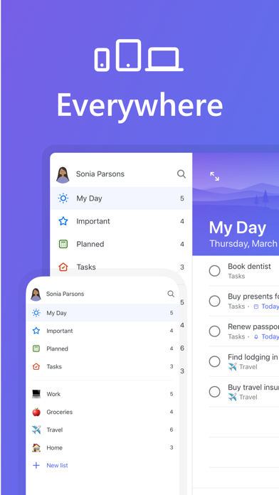 Microsoft To-Do screenshot 1