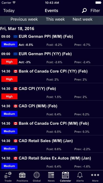 Finalto ClearMobile screenshot-3